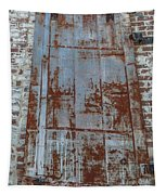 Old World Door Tapestry