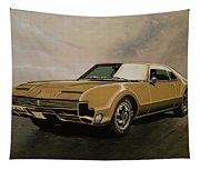 Oldsmobile Toronado 1965 Painting Tapestry