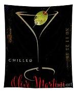 Olive Martini Tapestry