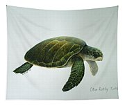 Olive Ridley Turtle Tapestry