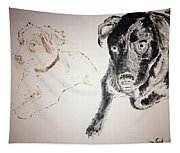 Oliver And Fury Commission Tapestry