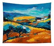 Oliviers En Provence Tapestry