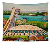 Olympic Stadium  Montreal Tapestry