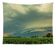 Ominous Nebraska Outflow 001 Tapestry