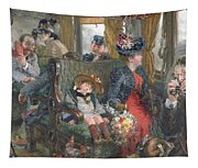On A Journey To Beautiful Countryside Tapestry