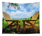 On A Pretty Summer Day Oil Painting Tapestry
