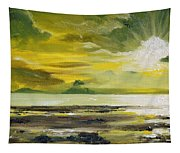 On Golden Shores Tapestry