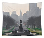 On The Benjamin Franklin Parkway Tapestry