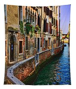 On The Canal-venice Tapestry