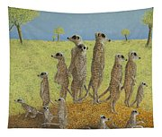 On The Lookout Tapestry