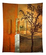 On The Other Side Of The Door Tapestry