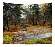 Picnic On The Rocks Tapestry