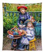 On The Terrace Tapestry