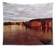 On The Vltava River Tapestry