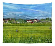 On The Way To Ubud 3 Bali Indonesia Tapestry