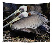 On Their Nest Tapestry