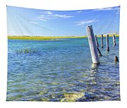 Once Upon A Pier Tapestry