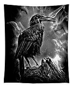One Dark Scary Night Tapestry