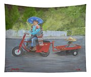 One Harry Ride Tapestry