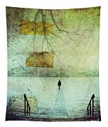 One Man In The Winter Of His Life Tapestry