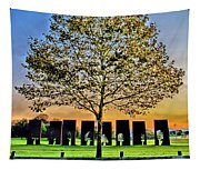 One Positive Eight Negatives Tapestry