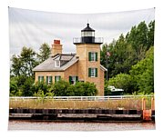 Ontonagon Lighthouse Tapestry