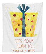 Open Gifts- Card Tapestry