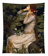 Ophelia Tapestry by John William Waterhouse