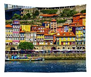 Oporto By The River Tapestry