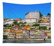 Oporto Riverfront Tapestry