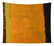 Orange And Brown Tapestry