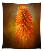 Orange Blast In The Garden Tapestry
