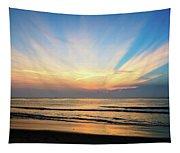 Orange Seas Tapestry