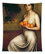 Oranges And Lemons Tapestry