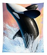 Orca 1 Tapestry