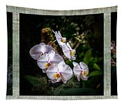 Orchid 1 Triptych Tapestry