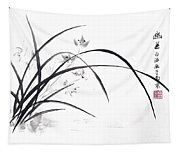 Orchid Elegance  Tapestry