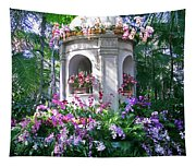 Orchid Paradise Tapestry