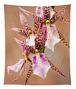 Orchid Stars Tapestry