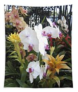 Orchids And Iron Tapestry