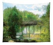 Orient - Bridge - Chinese Bridge  Tapestry