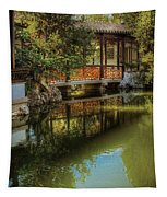 Orient - Bridge - The Chinese Garden Tapestry