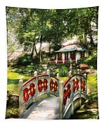 Orient - Bridge - The Bridge To The Temple  Tapestry