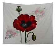 Oriental Poppy Tapestry