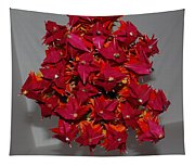 Origami Flowers Tapestry