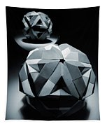 Origami Paper Sphere Tapestry