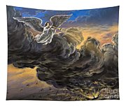 Fifth Trumpet Angel Tapestry