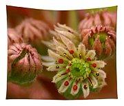 Ornamental Flower Tapestry