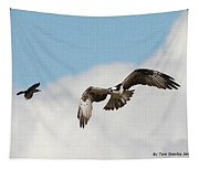 Osprey Botherd By Grackle Tapestry