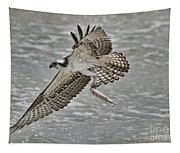Osprey With Breakfast Tapestry